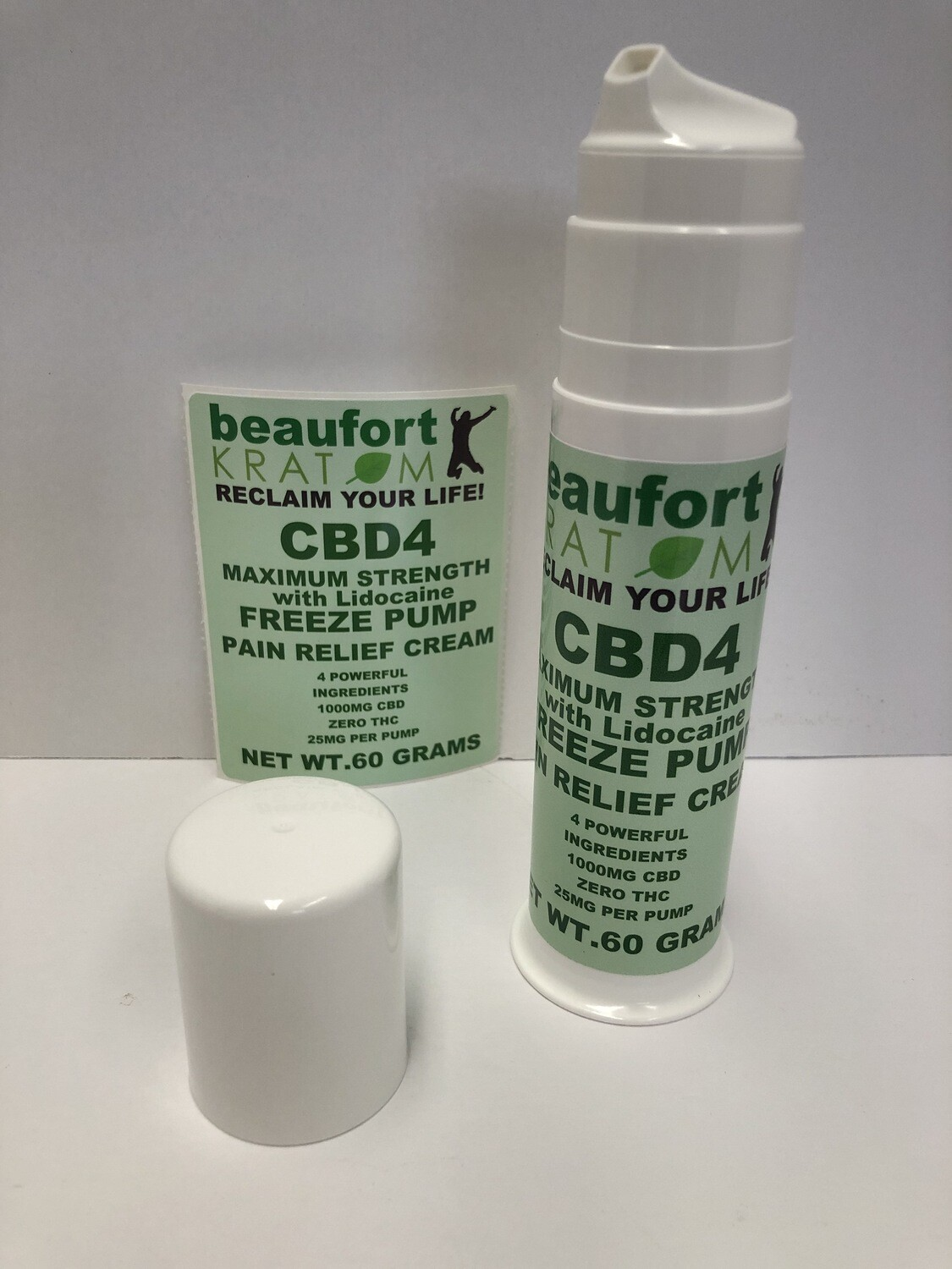 CBD Lotion with lidocaine 1000mg