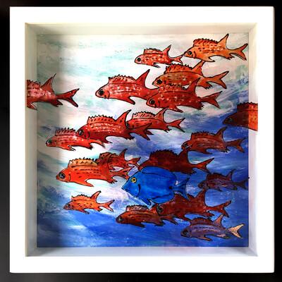 One Fish Two Fish, Squirrel Fish Blue Fish