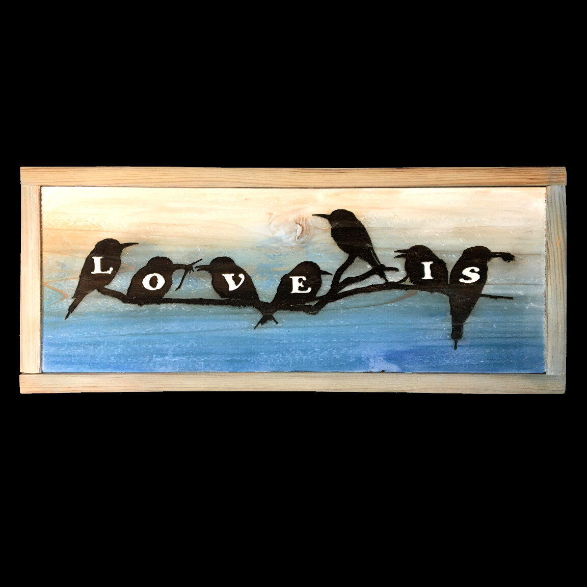 Love Is--Bird Silhouettes