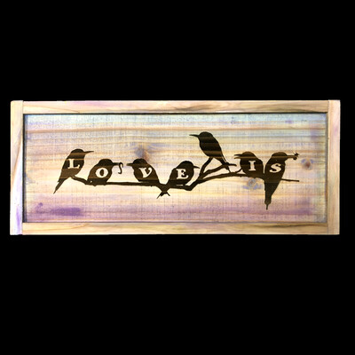 Love Is--Bird Silhouettes