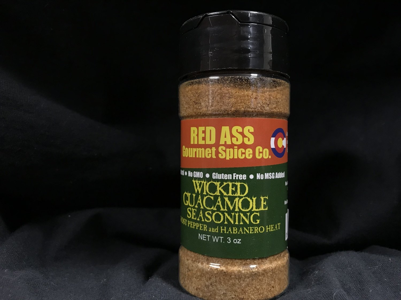 Red Ass Wicked Guacamole Seasoning