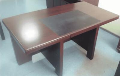 Стол руководителя с тумбами 214Р-1(160Х90) махагон