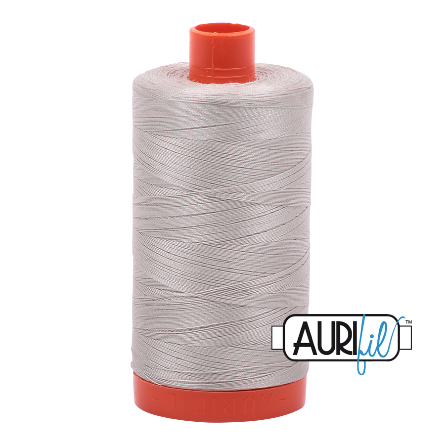 Col. # 6725 Moondust- Aurifil 50 weight