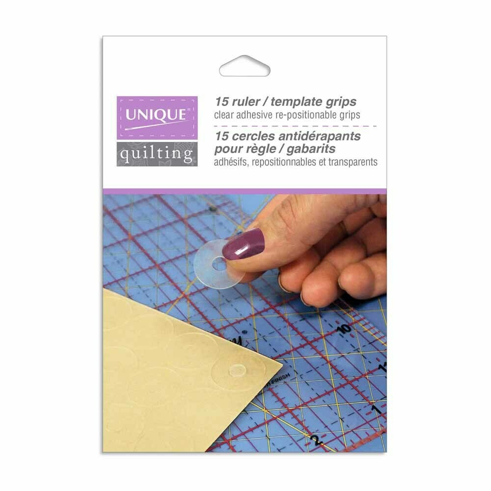 Unique Quilting Ruler/Template Grips