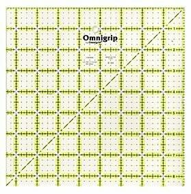 Omnigrip 8.5 x 8.5 inch Ruler