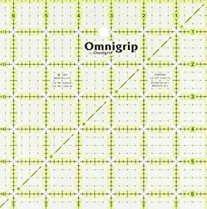 Omnigrip 6.5 x 6.5 inch Ruler
