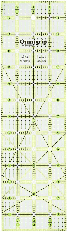 Omnigrip 3.5 x 12.5 inch Ruler