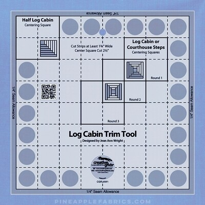 Creative Grids Log Cabin Trim Tool