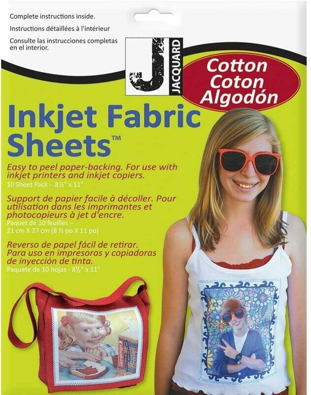 Jacquard Inkjet Fabric Sheets