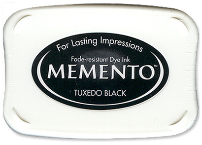 Tsukineko Memento Ink Pad Tuxedo Black