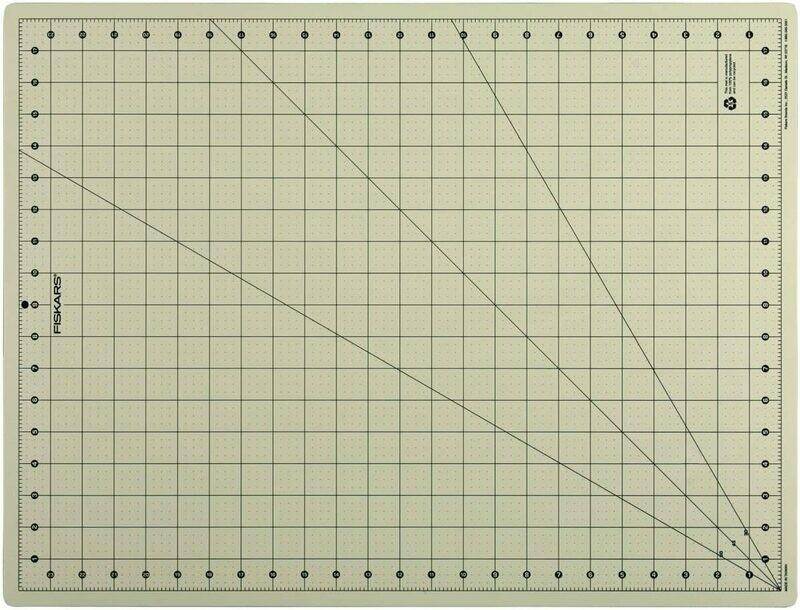 Fiskars 18x24 Inch Eco Cutting Mat