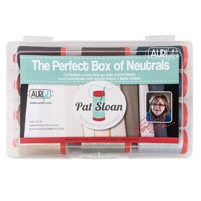 The Perfect Box of Neutrals Aurifil Kit