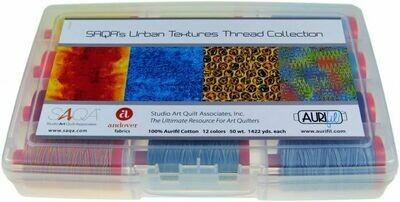 SAQA's Urban Textures Aurifil Thread Collection Kit