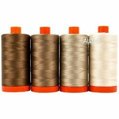 Quilters Essentials Aurifil 50wt 4 Pack