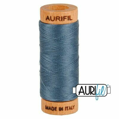 Col. #1158 Medium Grey - Aurifil 80 Weight