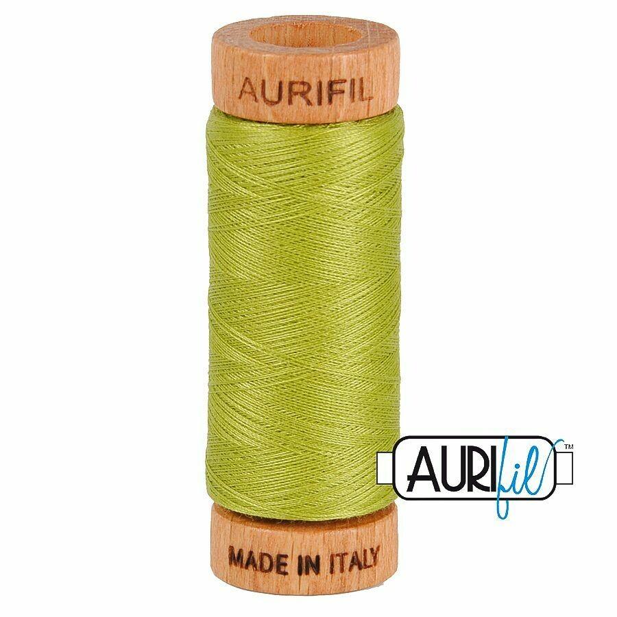 Col. #1147 Light Leaf Green - Aurifil 80 Weight