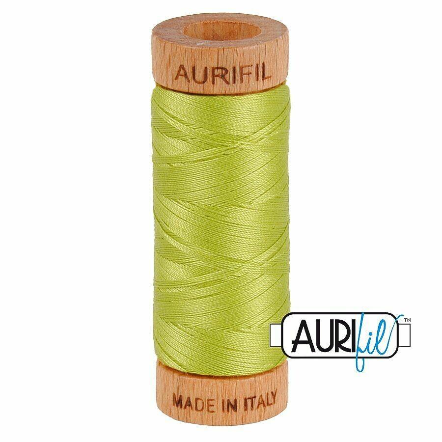 Col. #1231 Spring Green - Aurifil 80 Weight
