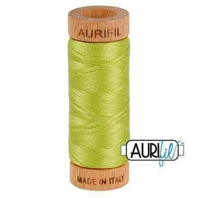 Col. #1231 Spring Green - Aurifil 80 Weight