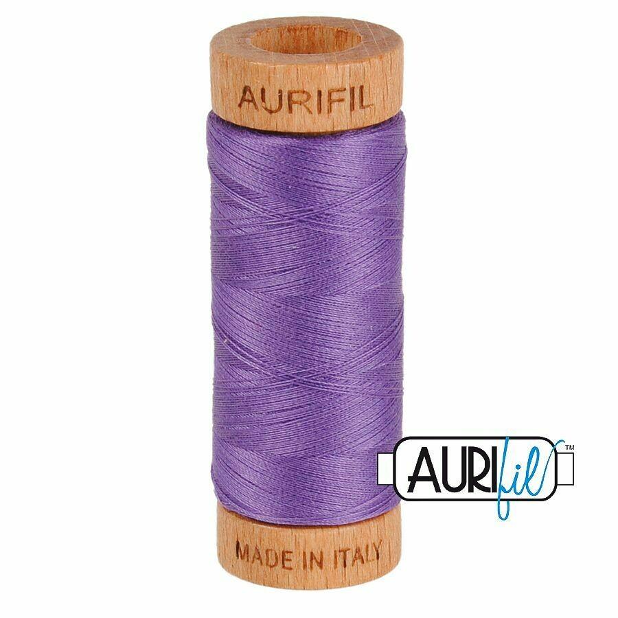 Col. #1243 Dusty Lavender - Aurifil 80 Weight