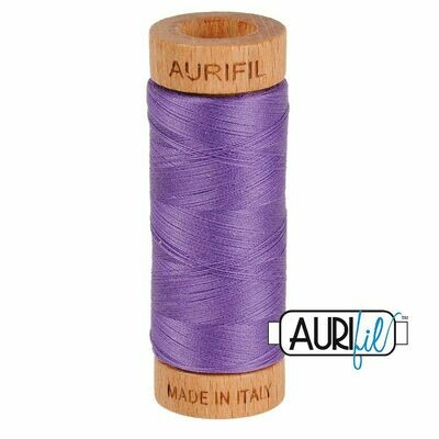 Col. #1243 Dusty Lavender - Aurifil 80 Weight