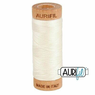 Col. #2026 Chalk - Aurifil 80 Weight