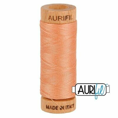 Col. #2215 Peach - Aurifil 80 Weight