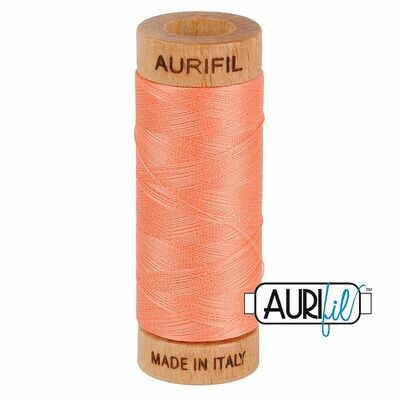 Col. #2220 Light Salmon - Aurifil 80 Weight