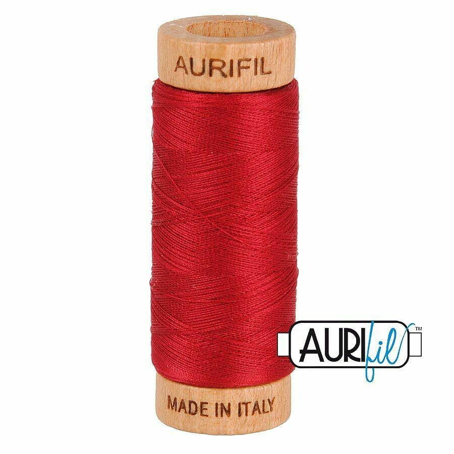 Col. #2260 Red Wine - Aurifil 80 Weight