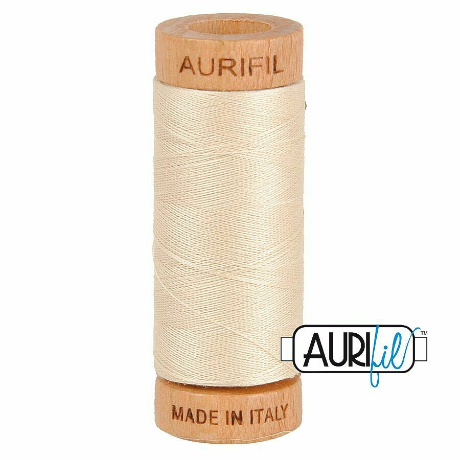 Col. #2310 Light Beige - Aurifil 80 Weight