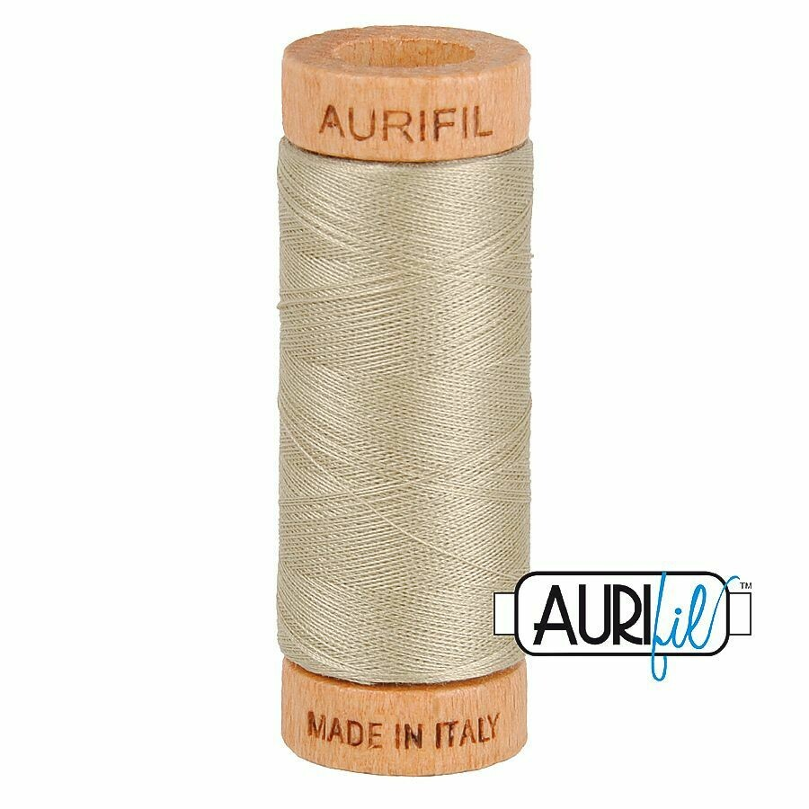 Col. #2324 Stone - Aurifil 80 Weight