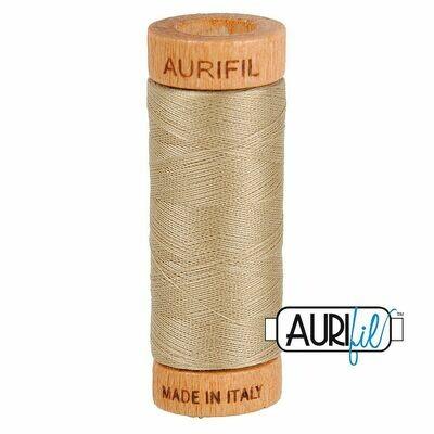 Col. #2325 Linen - Aurifil 80 Weight