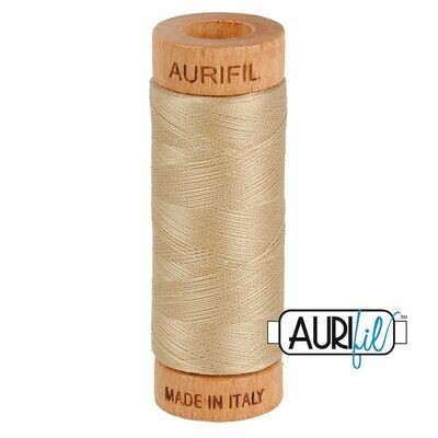 Col. #2340 Cafe' au Lait - Aurifil 80 Weight