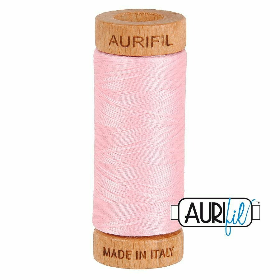 Col. #2423 Baby Pink - Aurifil 80 Weight