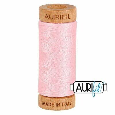 Col. #2423 Baby Pink - Aurifil 80 Weight
