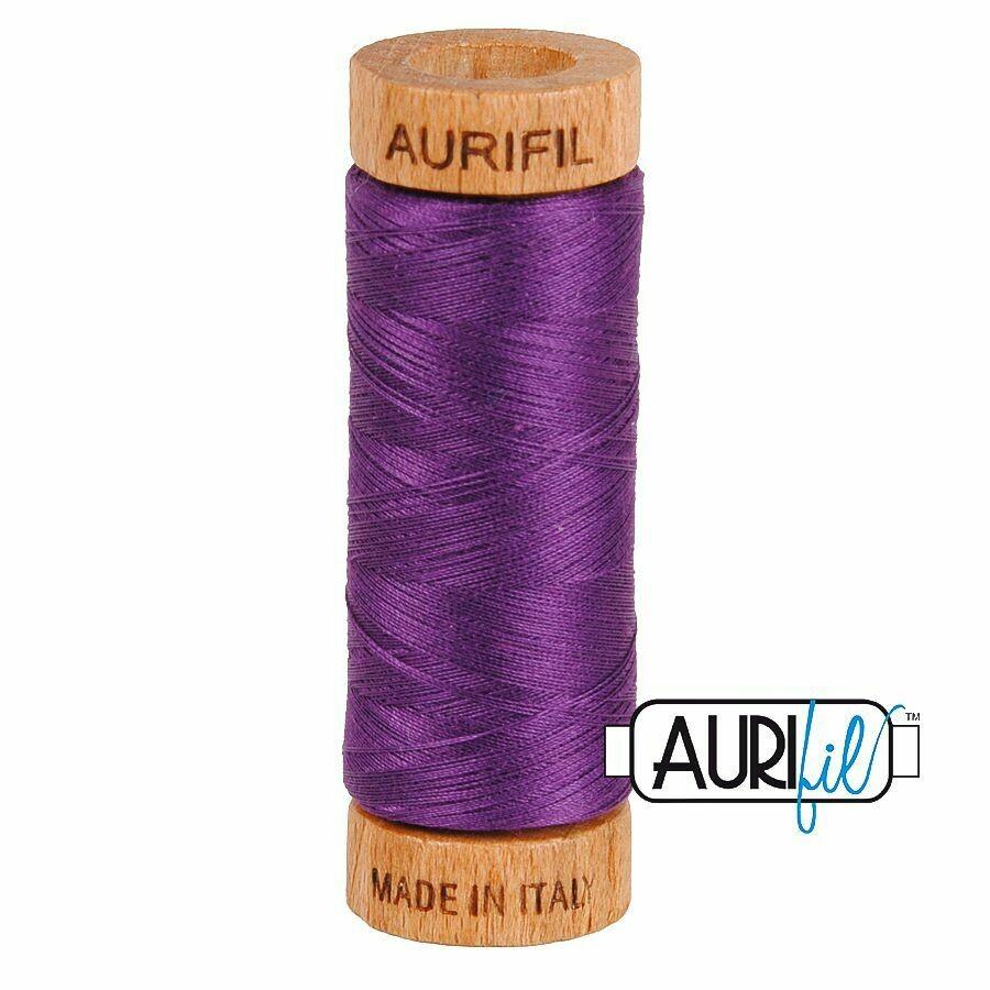 Col. #2545 Medium Purple - Aurifil 80 Weight