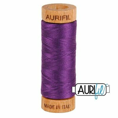 Col. #2545 Medium Purple - Aurifil 80 Weight