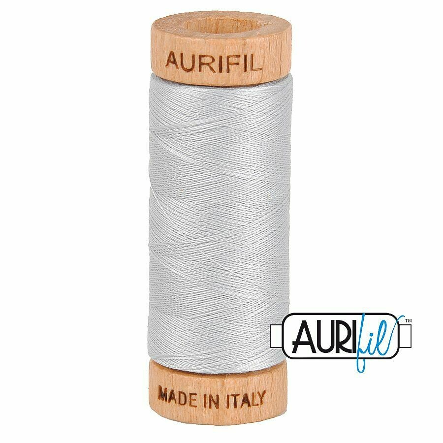 Col. #2600 Dove - Aurifil 80 Weight