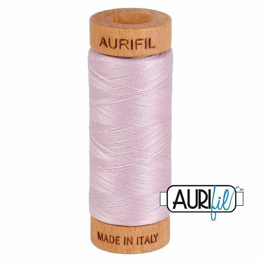 Col. #2510 Light Lilac - Aurifil 80 Weight