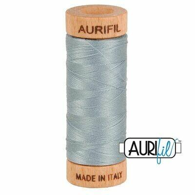 Col. #2610 Light Blue Grey - Aurifil 80 Weight