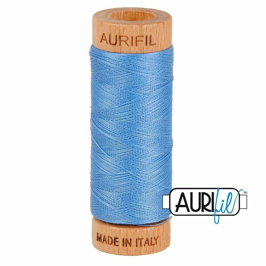 Col. #2725 Light Wedgewood - Aurifil 80 Weight