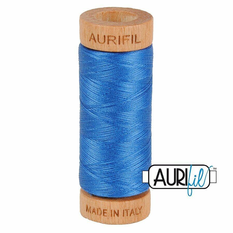 Col. #2730 Delft Blue - Aurifil 80 Weight