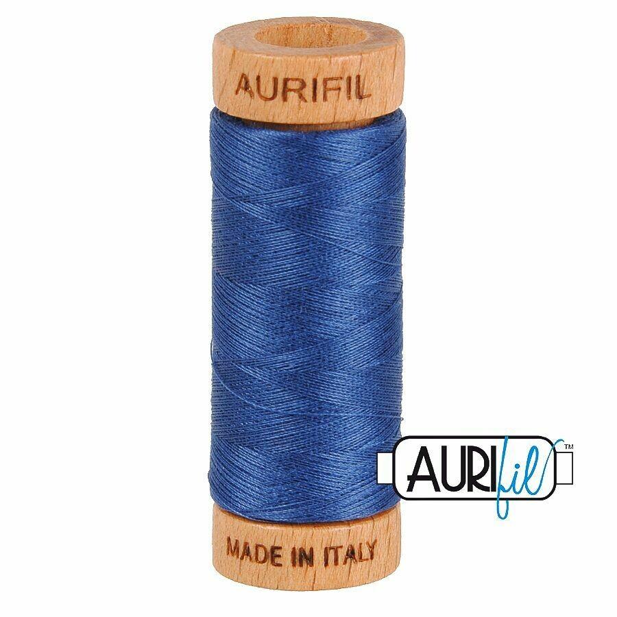Col. #2775 Steel Blue - Aurifil 80 Weight