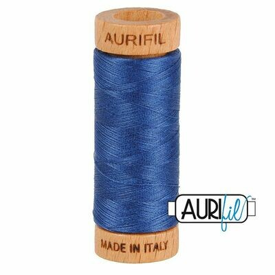 Col. #2775 Steel Blue - Aurifil 80 Weight