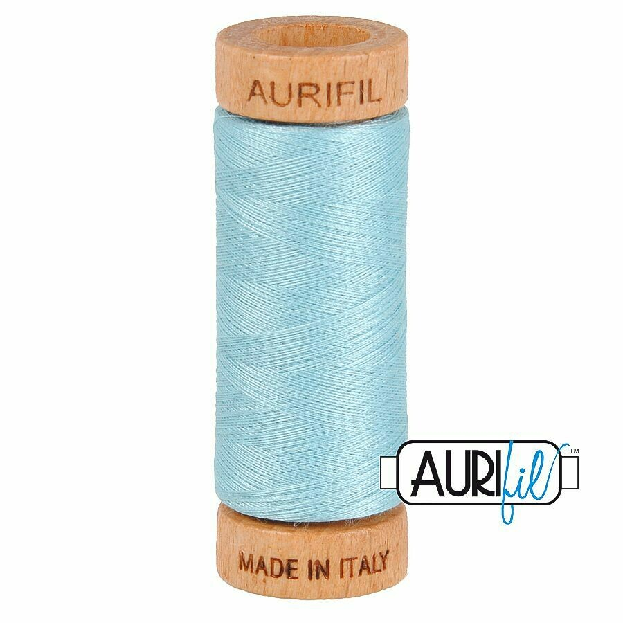 Col. #2805 Light Grey Turquoise - Aurifil 80 Weight