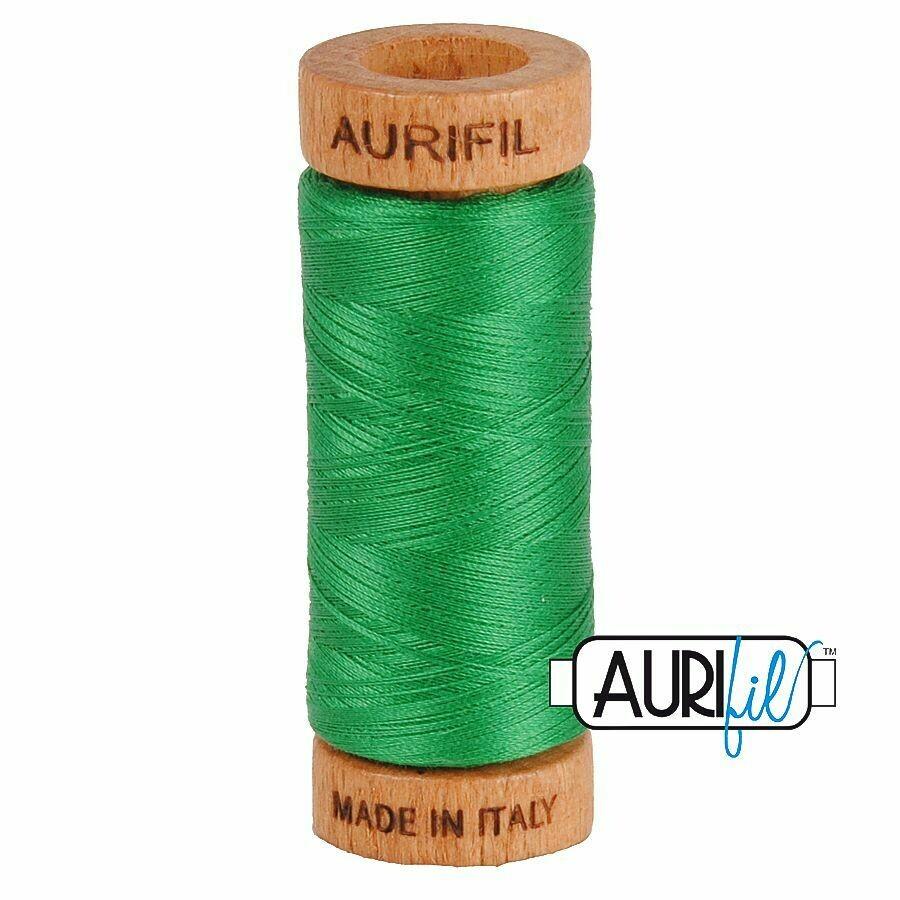 Col. #2870 Green - Aurifil 80 Weight