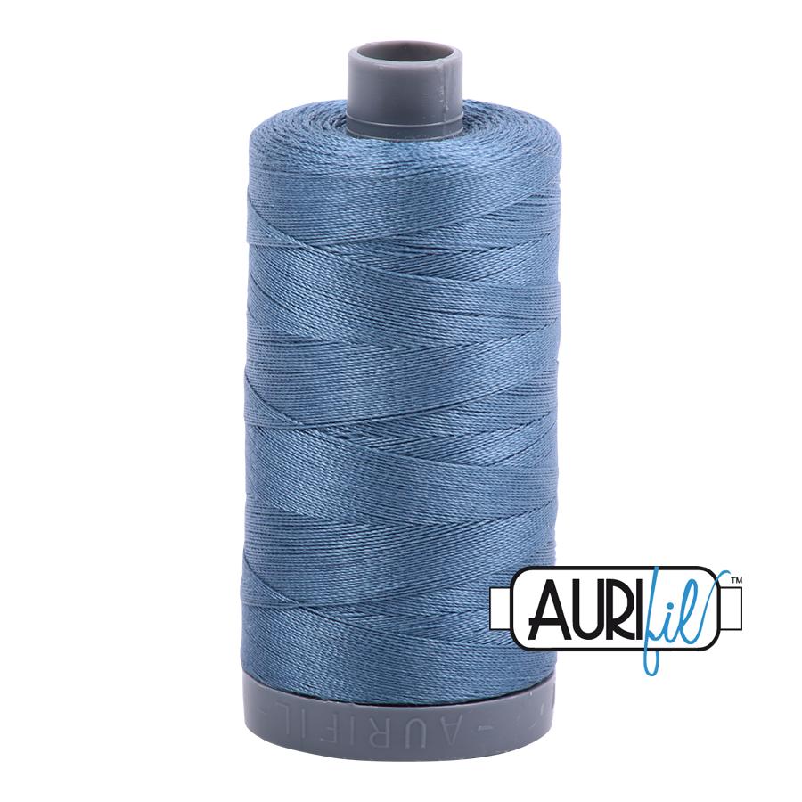 Col. #1126 Blue Grey - Aurifil 28 Weight