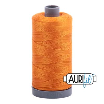 Col. #1133 Bright Orange - Aurifil 28 Weight