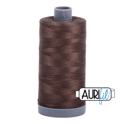 Col. #1140 Bark - Aurifil 28 Weight