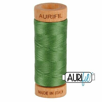 Col. #2890 Very Dark Grass Green - Aurifil 80 Weight