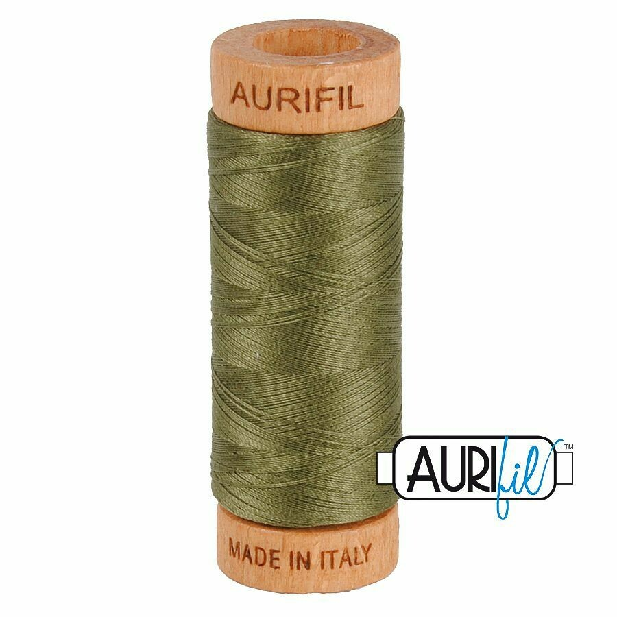Col. #2905 Army Green - Aurifil 80 Weight